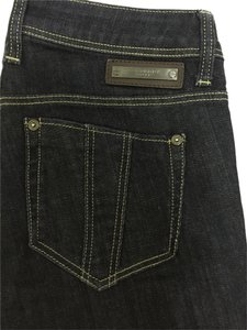 Burberry Brit Straight Leg Jeans-Dark Rinse
