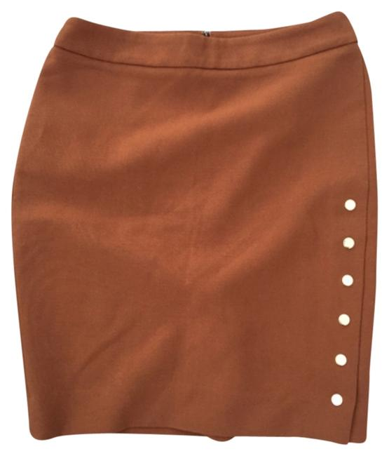 Preload https://img-static.tradesy.com/item/6316444/premise-camel-knee-length-skirt-size-4-s-27-0-0-650-650.jpg
