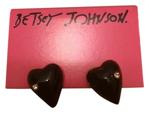 Betsey Johnson Betsey Johnson Heart Earrings