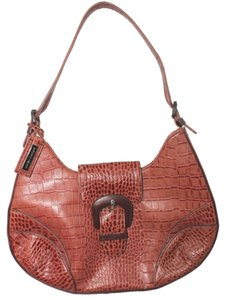 Antonio Melani Animal Leather Shoulder Bag
