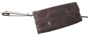 Banana Republic Animal Wristlet in BROWN