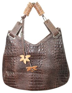 DONINI Italy Leather Shoulder Bag