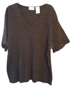 Kathie Lee Collection Free Shipping Neck Size 3x New Knit Plus-size Polyester 3x Womens Sweater