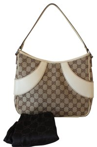 Gucci Gg Soho Noho Cross Body Monogram Leather Canvas Interlocking Horse Horsebit Shoulder Bag