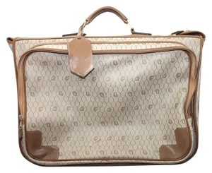 Dior Vintage Christian BROWN Travel Bag