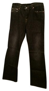 Lucky Brand Stretch Boot Cut Jeans-Dark Rinse