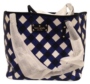Kate Spade Tote in French Navy / Cream