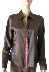Other Button Down Shirt Brown