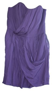 Donna Morgan Top Purple