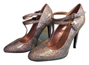 Qupid Disco Sparkle Pumps