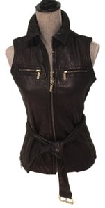 Michael Kors Leather Leather Casual Leather Leather Vest