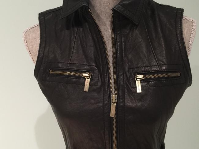 Michael Kors Leather Leather Casual Leather Leather Vest Image 1