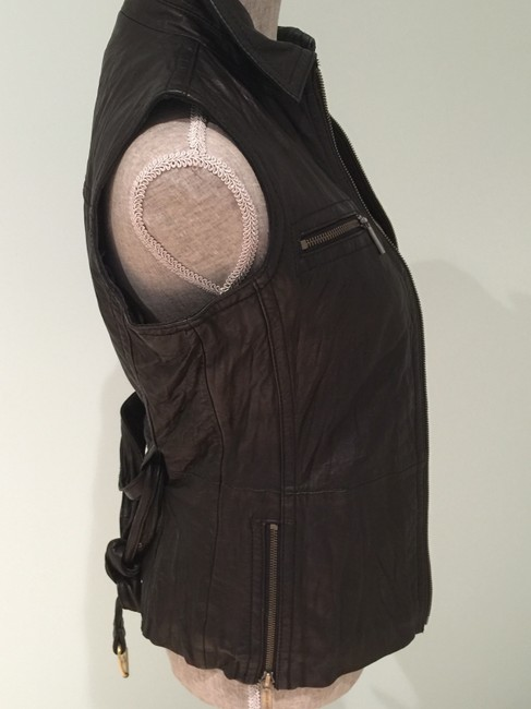Michael Kors Leather Leather Casual Leather Leather Vest Image 3