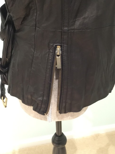 Michael Kors Leather Leather Casual Leather Leather Vest Image 4