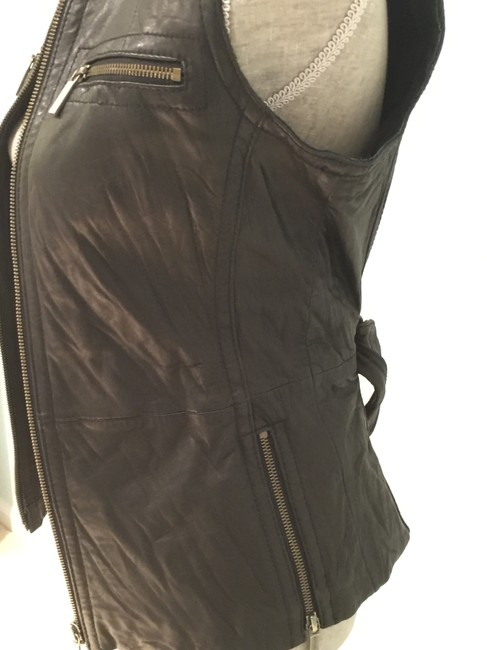 Michael Kors Leather Leather Casual Leather Leather Vest Image 5