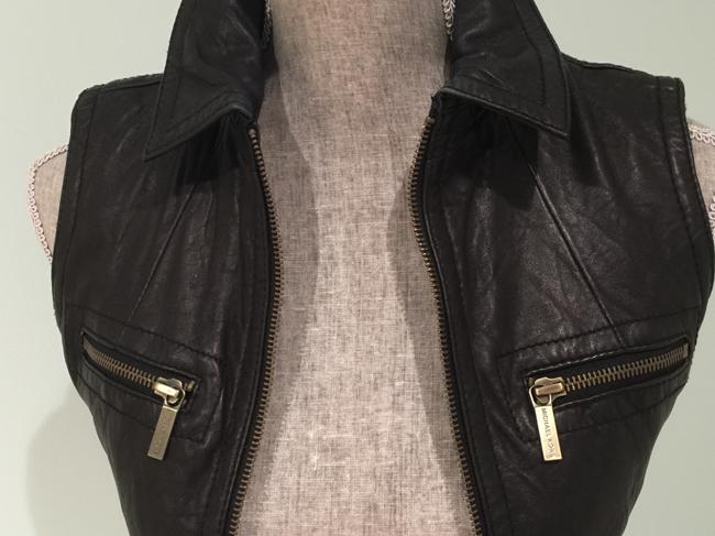 Michael Kors Leather Leather Casual Leather Leather Vest Image 6