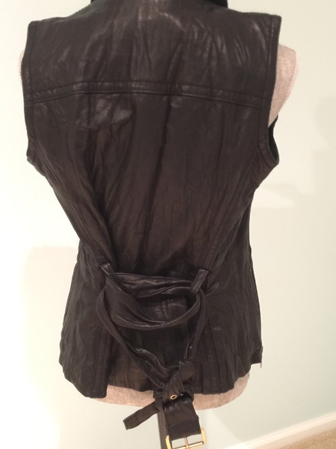 Michael Kors Leather Leather Casual Leather Leather Vest Image 8