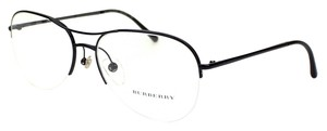 Burberry Burberry BE1225 1001 Black Semi Rimless Women Rx Eyeglasses