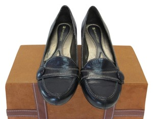 Naturalizer Leather Size 6.00 M Good Condition Hardly Worn Navy Pumps