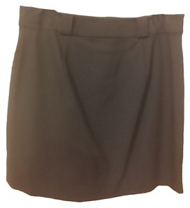 INC International Concepts Rayon Skirt Black