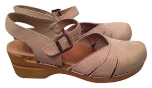 Dansko Neutral TAN LEATHER MARRIJANES Mules