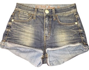 Guess Mini Summer Washed Mini/Short Shorts blue denim