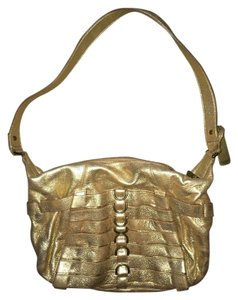 Botkier Metallic Satchel in Gold