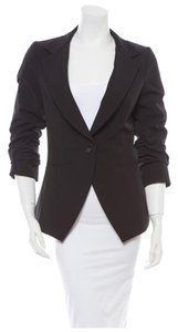 Elizabeth and James Classic Feminine Black Blazer