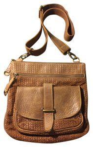 Roots Brown Messenger Bag