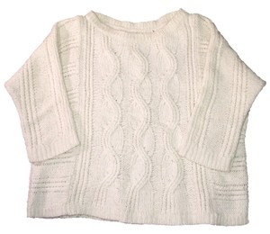 Ann Taylor LOFT Cable Knit Knitted Wool Sweater