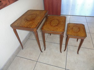 Vintage Set Of Italian Nesting Tables