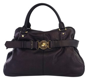 Burberry Large Leather Bowler Tote