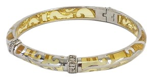 Angelique de Paris Veranda Yellow & Silver Bracelet