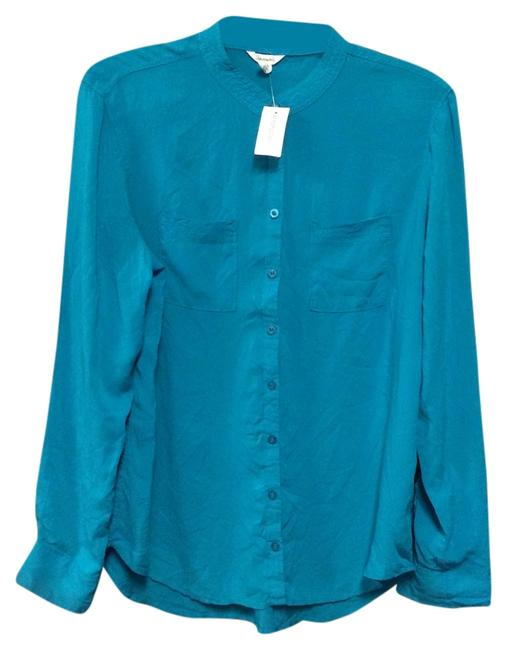 Aéropostale Cute Top Turquoise Green