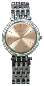 Michael Kors Michael Kors Darci Watch Silvertone and Rose Gold