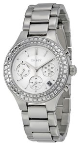 Donna Karan DKNY Chambers Silver Dial Stainless Steel Ladies Watch NY2258