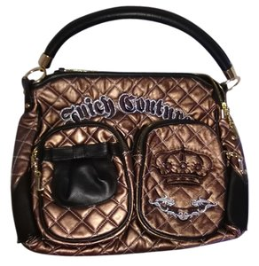 Juicy Couture Gear Pockets Tote in Bronze