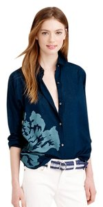 J.Crew J Crew Classic Shirt Button Down Shirt Blue