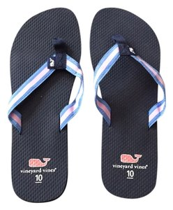 Vineyard Vines Navy Sandals