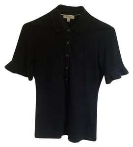 Burberry Button Down Shirt Black