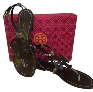 Tory Burch Coconut with black/ivory Sandals