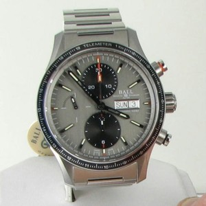 Ball Ball Cm3090c-s1j-gy Fireman Stormchaser Chronograph Gray Dial Watch