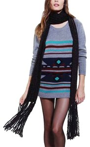 Urban Outfitters Super Long Ribbed Knit Scarf