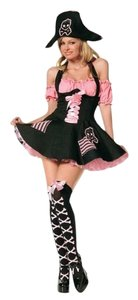 Leg Avenue short dress Black And Pink on Tradesy