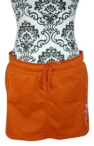 No Boundaries Mini Activewear Mini Skirt Orange
