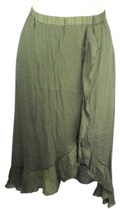 Mlle Gabrielle Plus Size Fashions Lined Maxi Skirt