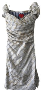 Vivienne Westwood Lace Metallic Sweetheart Dress