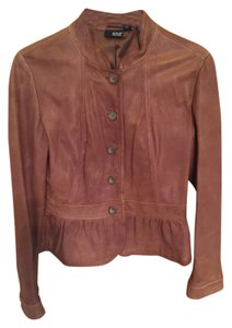 a.n.a. a new approach Copper Leather Jacket