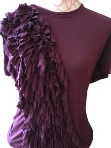 RED Valentino Top Burgundy