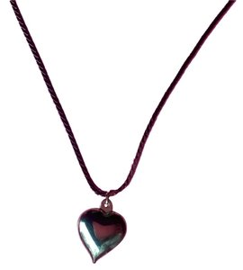 Other Silver Color Heart-Shaped Pendant on 16